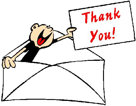 Write a thank you letter after job interview